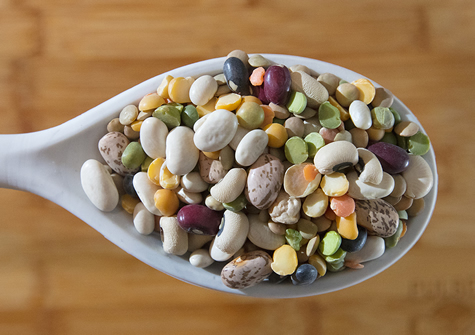 Green Lentil & Roasted Corn Summer Salad