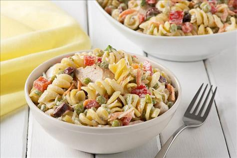 Turkey, Rotini and Split Pea Salad